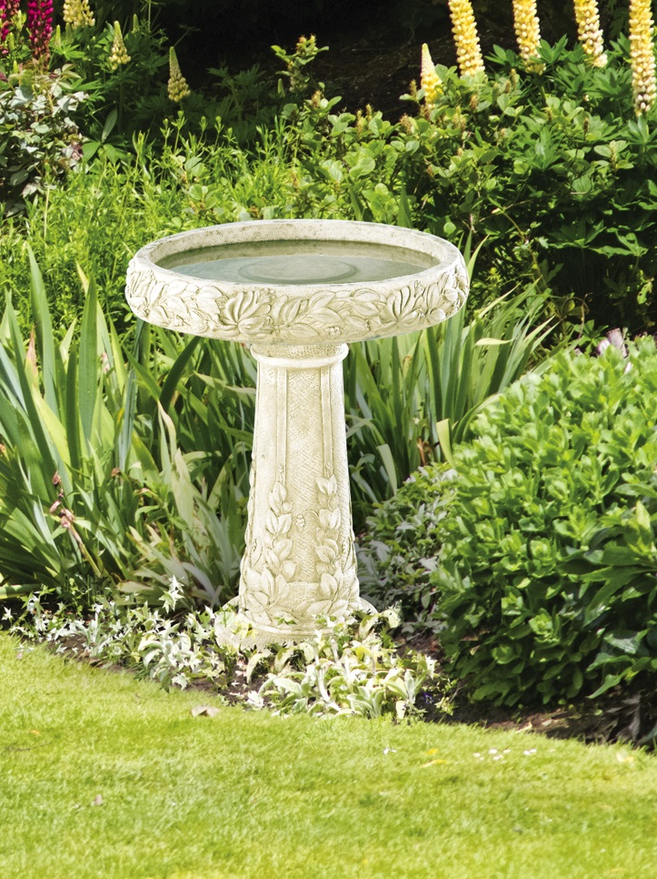 Honeysuckle Birdbath, 2 pc.