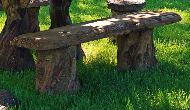 Woodland Bench, 3 pc.
