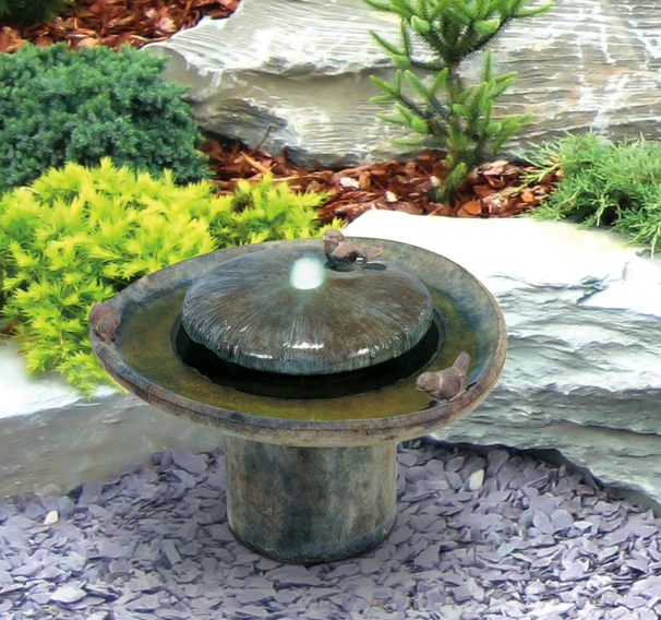 Birds of a Feather Fountain, 2 pc.