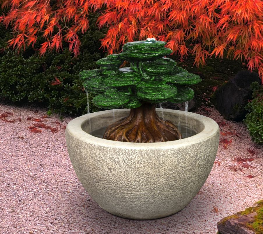 Bonsai Fountain, 2 pc.