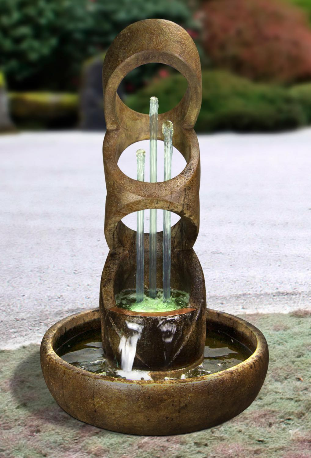 Balancing Rings Fountain, 2 pc.