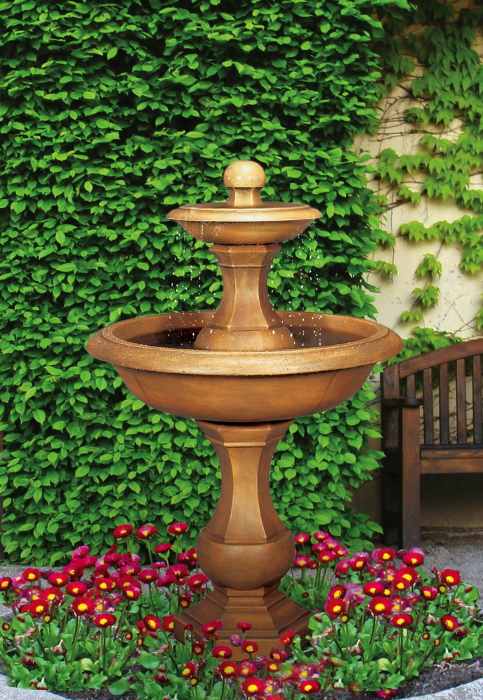 Barrington Two-Tier Fountain, 4 pc.