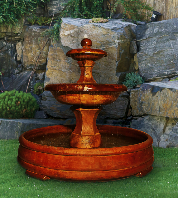 Barrington Fountain in Grando Pool, 5 pc.