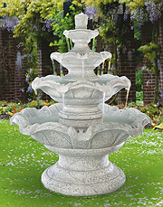 Quattro Classic Tier Fountain