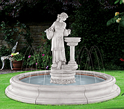 Angella Fountain with Spray Ring in Toscana Pool (original surrounds)